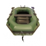 PVC-paat FreeSun 3,0m, ribipõhjaga, standardvarustusega