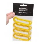 Haaklukk Ahti plastist 95mm kollane (4tk pakis)
